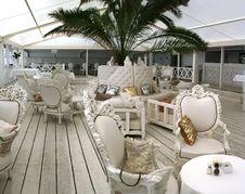Free Summer Interior Of Restaurant Royalty Free Stock Photos - 2725548