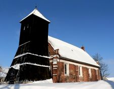 Free Old Church (built In 1481) Royalty Free Stock Photos - 2726748