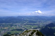 Free Austria.Landscape In Alpes. Royalty Free Stock Photo - 2727155