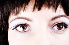 Free Close-up Of Girl S Eyes Stock Images - 2727374
