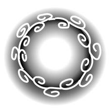 Swirls Spirals Web Page Logo Royalty Free Stock Photos
