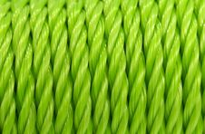Free Green Rope Background Stock Photography - 2728822
