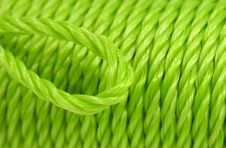 Free Green Rope Background Royalty Free Stock Photo - 2728825