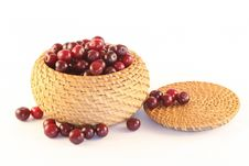Free Cherry In A Basket Royalty Free Stock Photos - 2729298