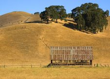 Barn In Field Stock Photos