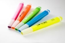 Free Highlighters Stock Photography - 2729502