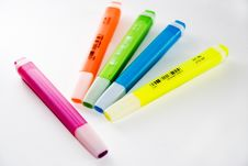 Free Highlighters Stock Photos - 2729503