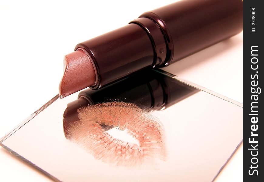 Lipstick Mirror Reflection