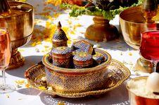 Thai Style Ceramics Ware. Stock Photo