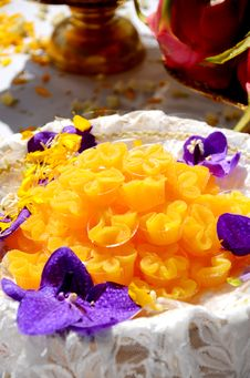 Free Thai Dessert. Stock Image - 27201781
