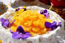 Free Thai Dessert. Royalty Free Stock Images - 27201829