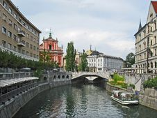 Free Ljubljana Breg Royalty Free Stock Images - 27203489
