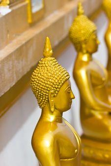 Free Statues Of Buddha Stock Photography - 27203872