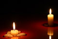 Free Candles On Dark Royalty Free Stock Images - 27219529
