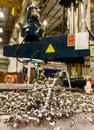 Free Scrap From Drilling Machine Stock Photography - 27219842