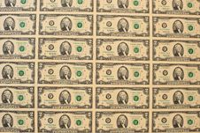 Free Sample Of US 2-dollar Bills Stock Photos - 27210863