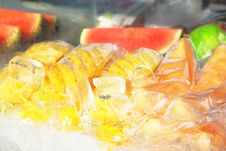 Free Fruit In Ice Royalty Free Stock Images - 27210929