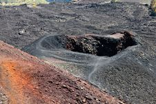 Free Etna Volcano Crater Stock Photo - 27215210