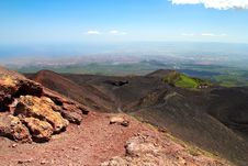 Free Etna Volcano Stock Image - 27215251
