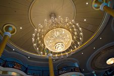 Free Magnificent Chandelier Royalty Free Stock Photo - 27215885