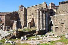Free Roman Forum Stock Images - 27216034