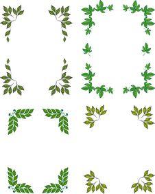 Free Frame. Leaves.corner Stock Images - 27219814
