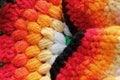 Free Bright,vivid & Multicolored Handwoven Woolen Dress Stock Photo - 27220070