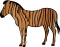 Free Wooden Zebra Stock Photos - 27220783