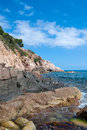 Free Sunny Beach In Catalonia Royalty Free Stock Image - 27222236
