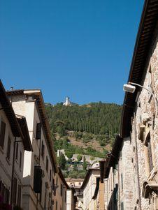 Free Gubbio-Italy Royalty Free Stock Image - 27220016
