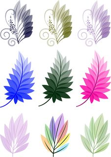 Free Six  Leaves Royalty Free Stock Image - 27220276