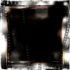 Free Filmstrips Grunge Frame Stock Image - 27220641