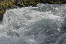 Free Rough Water In The River Rapids. Stock Images - 27222284