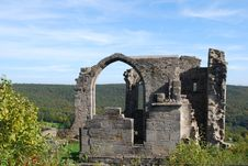 Free Castle Altenstein Ruin Royalty Free Stock Photos - 27224358