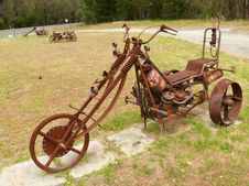 Free Amusing Model Of Trike. Stock Photos - 27225903