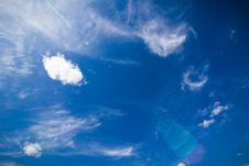 Free Amazing Blue Sky Stock Photos - 27226163