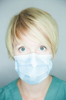 Free Nurse Looking At You Royalty Free Stock Photo - 27226275