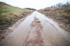Free Flooded Path &x28;ditch&x29; Stock Photos - 27226623