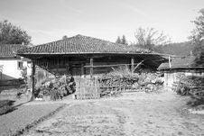 Old Farmhouse. Royalty Free Stock Photo