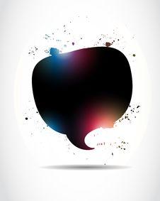 Free Abstract Speech Bubble Stock Photo - 27227720