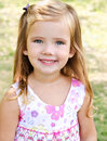 Free Outdoor Portrait Of Cute Little Girl Royalty Free Stock Images - 27231959