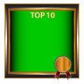 Free Top Ten Symbol Stock Image - 27232731