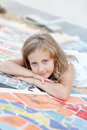 Free Portrait Of A Cute Blond Girl Royalty Free Stock Photos - 27239498