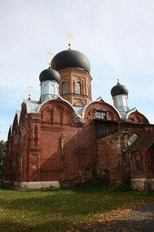 Pokrov. Vvedensky Island Hermitage &x28;monastery&x29;. Stock Photography