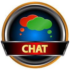 Free Chat Symbol Royalty Free Stock Photos - 27232698
