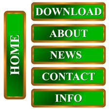 Free Web Icon Set Stock Photography - 27232702
