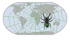 Free Spider-Internet Royalty Free Stock Photos - 27233798