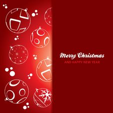 Free Christmas Card Background Stock Photos - 27235253