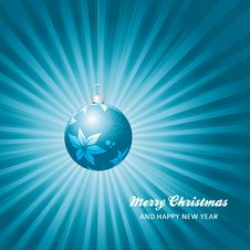 Free Christmas Card Background Royalty Free Stock Image - 27235296