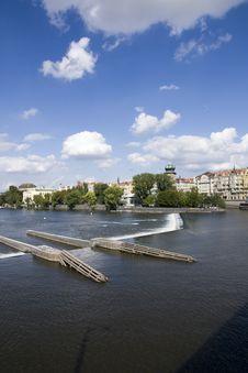 Free River Vltava Stock Photos - 27236463
